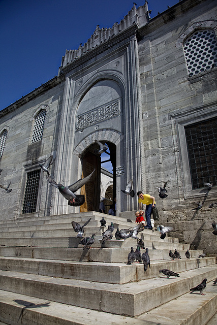 New mosque - entrance
