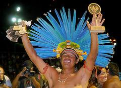 Cacique Paulo, ethnie Bororo-Boe, Brésil