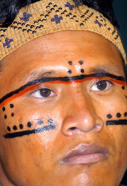 Índio Yanomâmi, Brésil