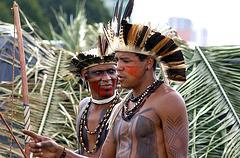 Índios Pataxós, Brésil