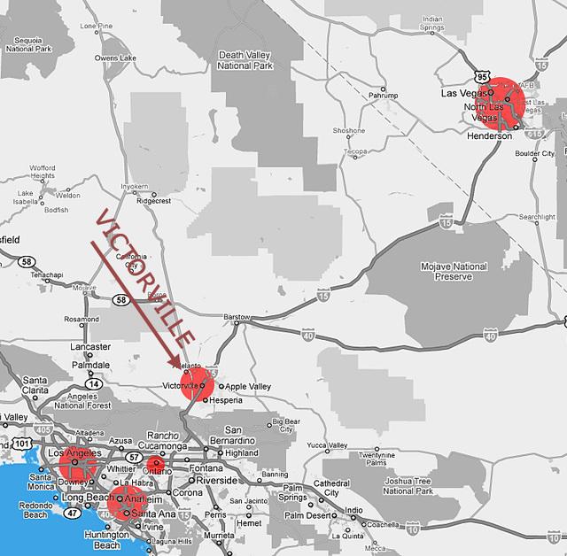 LA-LV Map