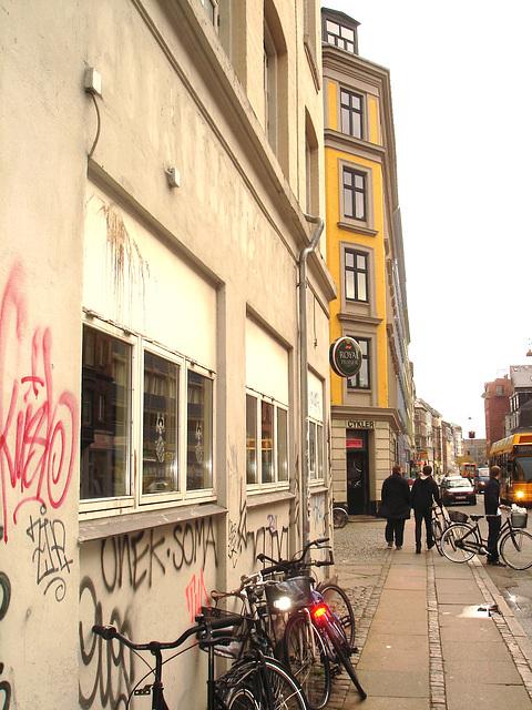 Graffitis Cykler et vélos / Cykler graffitis and bikes