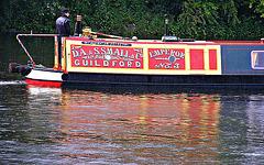 Narrow boat sign