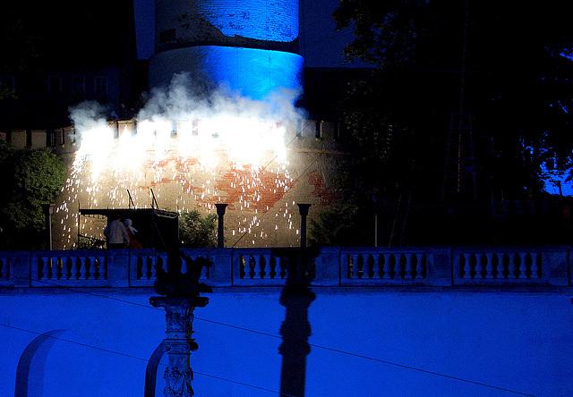 piroteknikaĵo - Feuerwerk beim Prinzenraub
