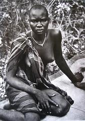 Sebastião Salgado, DINKAS from Sudan, people's faces (2)