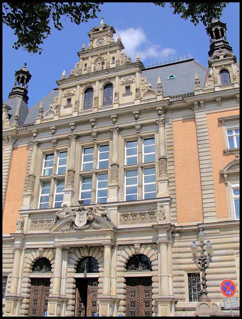 Strafjustizgebäude des Amts- und Landgerichts Hamburg