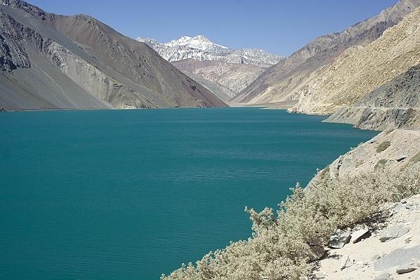 Lac El Yeso, Chili