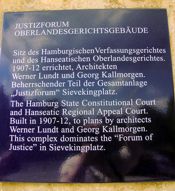 Information about Oberlandesgericht Hamburg