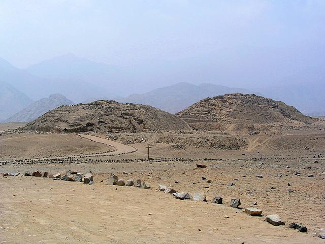 Ciudad Sagrada de Caral, Pérou