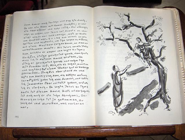 Ehrenstein – evangelia tekstero kun ilustraĵo