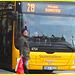 Bus suédois / Swedish buses - Helsingborg / Suède - Sweden.  22 octobre 2008