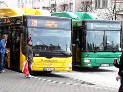 Bus suédois / Swedish buses