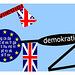 Lingva demokratio minacata