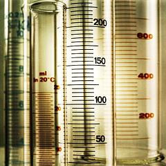 Mensuren – measuring jars
