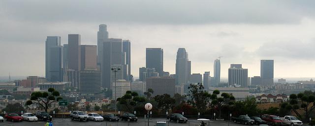 Downtown L.A. Seen From Dodger Stadium (2717)