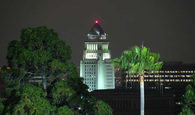 L.A. City Hall seen from Dodger Stadium (0286)