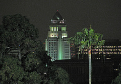 L.A. City Hall seen from Dodger Stadium (0287)