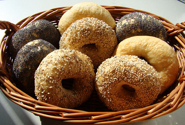 Chewy Mini Bagels