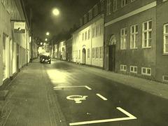Un soir à Helsingor ....../   Helsingor by the night........Danemark / Denmark.   Octobre 2008 - Vintage /  Photo ancienne