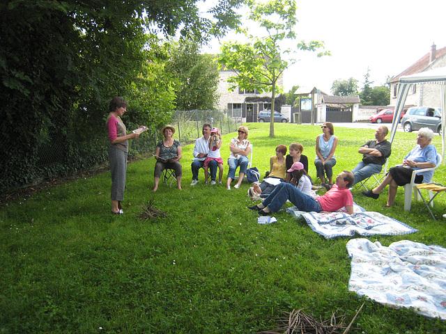 Bernadette. Lecture à voix haute le 13/06/09