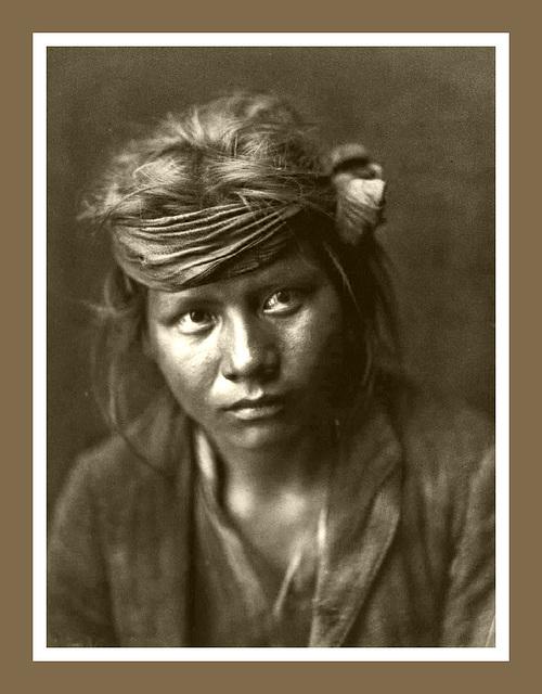Navajo, fils du désert, œuvre de Edward Sheriff Curtis