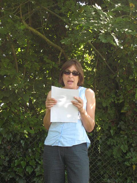 Sylvie. Lecture à voix haute le 13/06/09