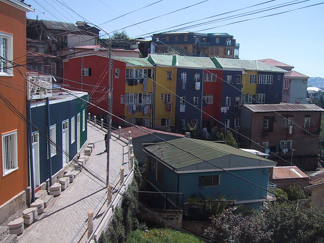 Nous irons à Valparaiso, Chili