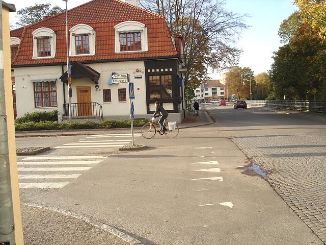 Vatteng biker area -  Zone Vatteng pour jolie cycliste / Ängelholm en Suède / Sweden.  23 octobre 2008