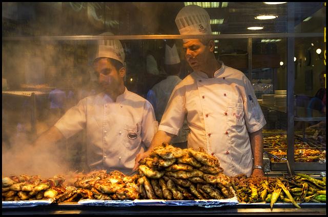 Istanbul cooks.......