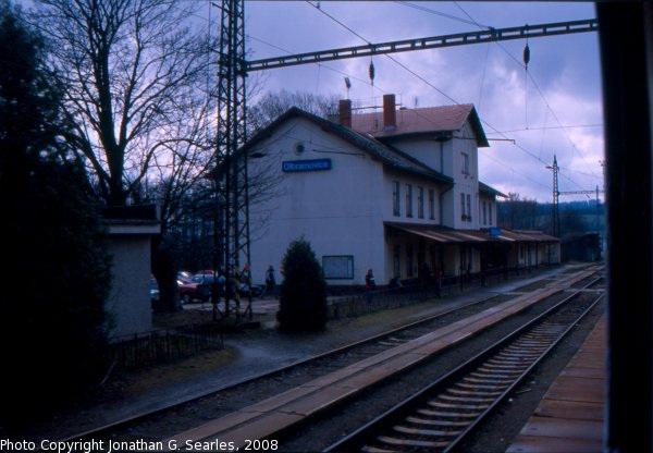 Nadrazi Olbramovice From the Train, Olbramovice, Bohemia (CZ), 2008