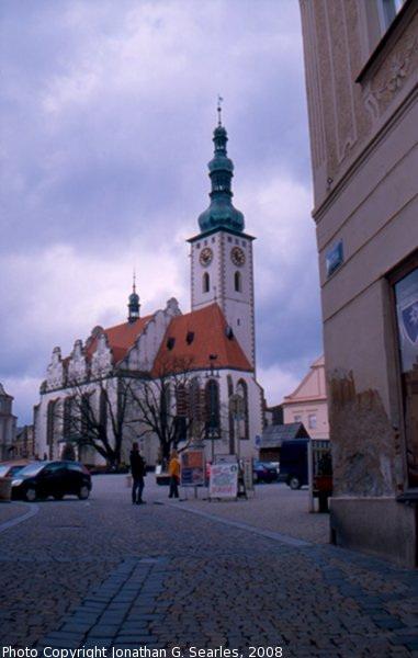 Dekansky Kostel (Church of the Transfiguration), Tabor, Bohemia (CZ), 2008