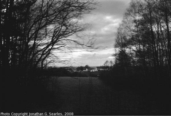View from Train to Bechyne, Bohemia (CZ), 2008