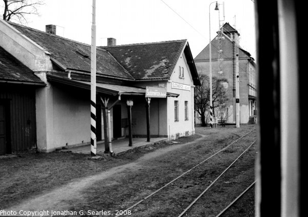 Nadrazi Sudomerice u Bechyne, Sudomerice u Bechyne, Bohemia (CZ), 2008