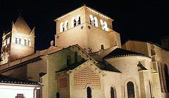 St Martin D'Ainay at night