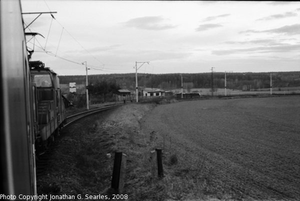 Train to Bechyne, Picture 2, Bechyne, Bohemia (CZ), 2008