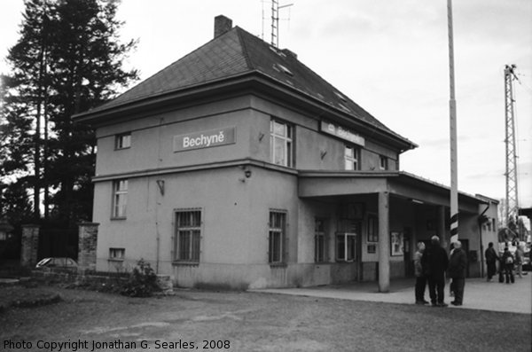 Nadrazi Bechyne, Bechyne, Bohemia (CZ), 2008