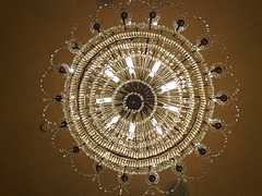 Lámpara de techo.