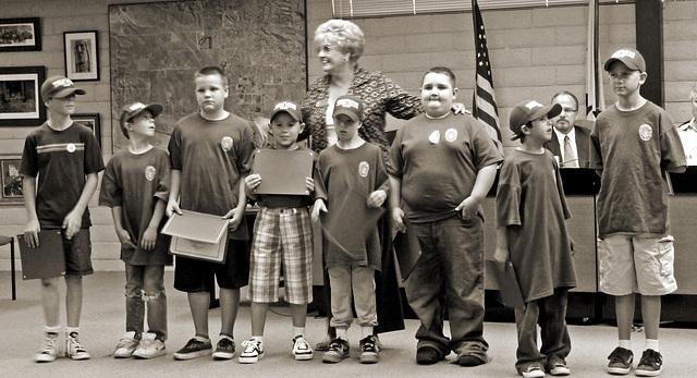 Junior Police & Mayor Parks (4053)