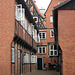 Lüneburg, Am Sande, Hinterhof