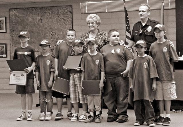 Junior Police - Mayor Parks - Officer Knabb (4054)