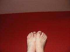 Les beaux Pieds de mon amie Christiane / Christiane's sexiest feet