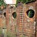 Lüneburg, Papenstr., Schulmauer