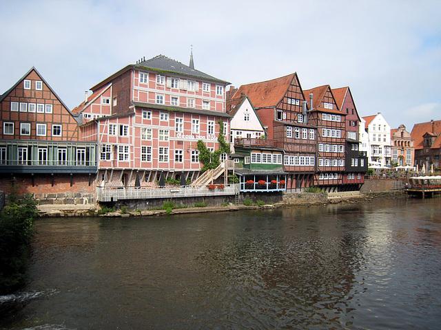 Lüneburg, Stintmarkt Hinteransicht