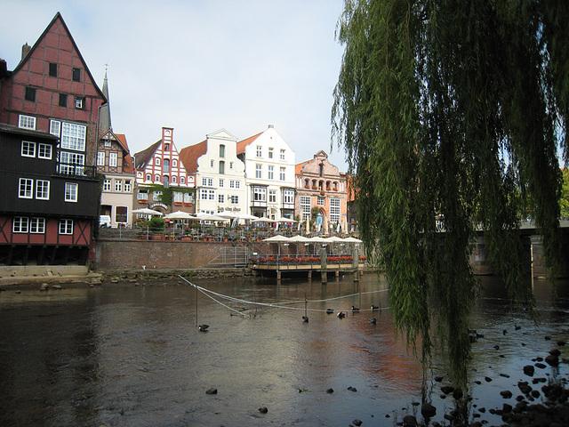 IMG 2482 Lüneburg, Blick auf den Stint
