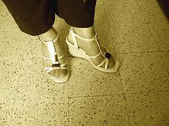 Christiane - Nouvelles sandales sexy / New sexy sandals - Avec permission / Sepia