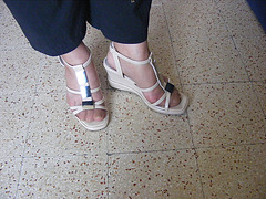Christiane - New sexy sandals / Nouvelles sandales sexy
