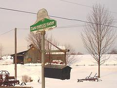 Twin maples farm - St-Benoit-du-lac-  Québec- Canada - 7 février 2009