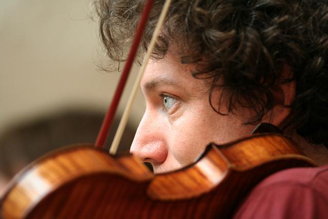 David Grimal : l'œil qui écoute