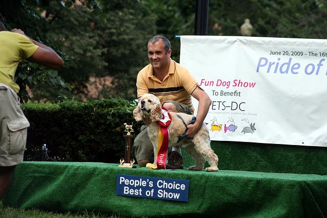 2ndPlace.PrideOfPetsFunDogShow.Dupont.WDC.21June2009