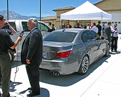 DHS Operation Falling Sun 2 - D.A. Rod Pacheco and Seized BMW (0438)